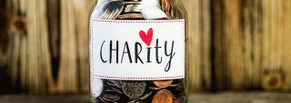 Spendenglas